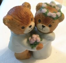 Enesco lucy and me wedding party bears by Lucy Rigg Bride And Groom