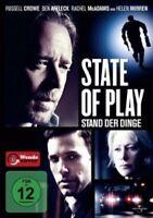 STATE OF PLAY-STAND DER DINGE - DVD NEU RUSSELL CROWE,BEN AFFLECK,HELEN MIRREN