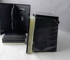 24 Empty DVD Storage Replacement Cases CD Video Game single, double, Slim,