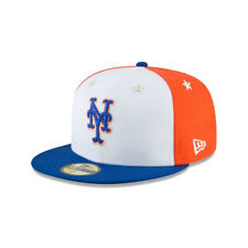 New York Mets New Era Authentic All-Star 59FIFTY Fitted Hat-Blue/Orange/White