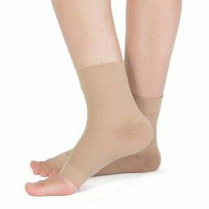 Ankle Sleeve Compression Sock Support Heel Arch Brace Wrap PLANTAR FASCIITIS Lot