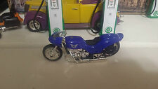 Motorcycle Low Rider 1:18 Showcasts Blue Diecast Metal & other material
