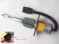 Blueview Shut off solenoid 3935432,3935430 24V SA-4755-24 for Cummins 6BT 5.9 engine