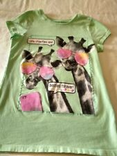 ~Girl's 1989 Place Short Sleeve Green Selfies Best Friends Forever Top 7/8 EC+*
