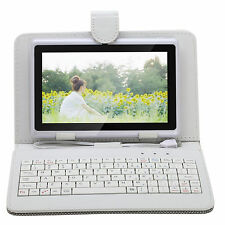 "iRULU 8GB 7"" Tablet Google Android 4.4 Quad Core Pad WIFI Touch Screen+Keyboard"