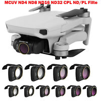 MCUV,CPL,ND1000//8//16//32//64,ND8//16//32//64-PL,Star,Anti-Light Damage Multi Coated Filters Pack Accessories Compatible with DJI Mavic Air 2 Drone Camera Lens Filter