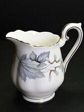 "Royal Albert Bone China Silver Maple Milk Jug  3.25"""