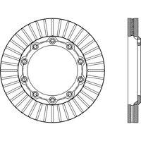 Disc Brake Rotor-C-TEK Standard Front,Rear Centric 121.83020