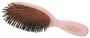 Mason Pearson CB4 Child Sensitive Pure Bristle Hairbrush – Pink - Open Box