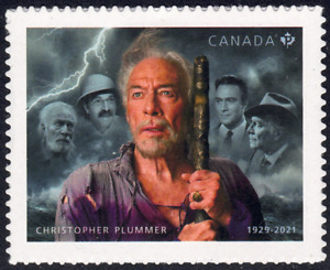 2021 Canada SC#  Christopher Plummer 1929-2021 - Actor - from Booklet M-NH