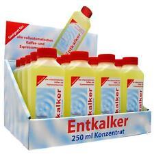 20 x 250ml Entkalker Konzentrat für Kaffeemaschinen Flüssiges Entkalkungsmittel