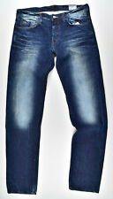 G-Star Raw 3301 Low Tapered Jeans W33 L34 Jeanshose Herrenjeans blau