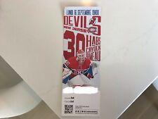 Unused Montreal Canadians sea tickets featuring Cayden Primeau sept 16
