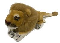 Vintage Lion Plush Toy Stuffed Animal Brown Mane Zoo Circus