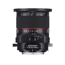 SAMYANG MF 24mm F3,5 T/S Nikon F