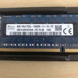 SK Hynix 1x 8GB DDR3-1600 RDIMM PC3L-12800R RDIMM HMT41GU7AFR8A-PB - TESTED