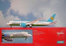 Herpa Wings 1:500 Boeing 787-8 uzbekistanairways uk78701 530040 modellairport 500