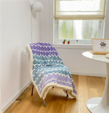 Multi-functional Milk Cashmere Blanket Quilt Cover Lamb Thick Warm  Bed Blanket