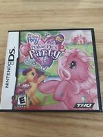 My Little Pony: Pinkie Pie's Party (Nintendo DS, 2008) Complete