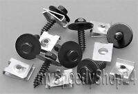 30x Blechmutter/Schrauben Unterlegscheiben Radhausschale Radkasten Clips für BMW
