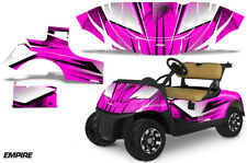 Golf Cart Graphics Kit Decal Sticker Wrap For EZ-Go TXT 2014-2018 EMPIRE PINK