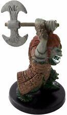 D&D mini ORC BERSERKER Harbinger #73 Dungeons & Dragons Pathfinder Miniature nc
