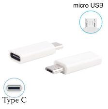 Adattatore Adapter da Tipo C Type C 3.1 Femmina a Maschio Micro USB 2.0 Data