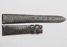Genuine Vintage Dark Brown ROLEX Watch Band 17mm Swiss Authentic Lizard Skin