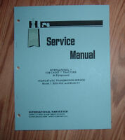 CUB CADET HYDROSTATIC  TRANSMISSION  SERVICE MANUAL