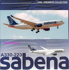 DRAGON WINGS SABENA Airlines Airbus A330 1:400 Diecast Civil Plane Model 55292