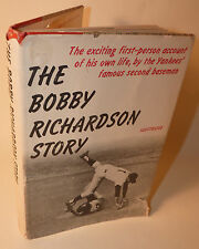 "1965 Pre-Owned ""The Bobby Richardson Story"" Hardcover Book +DJ Yankees 49 yrsold"