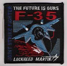 Fifth-Generation CATOBAR Lockheed Martin F-35 Fighter Patch + Pencil Pocket Tab