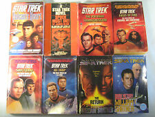 Paperback Lot of 11 STAR TREK [Y54F]
