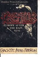 KREATOR & Agnostic Front & Biohazard  Used Guest Pass Berlin 08.01.1993