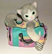 Enesco Calico Kittens I've Bagged The Best Buddy In The World Cat Travel Bag