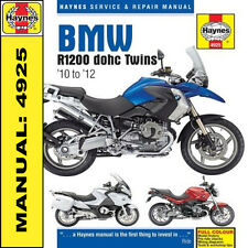 Haynes Manual BMW R1200 Dohc R1200GS R1200RT 2010-2012 4925 NEW