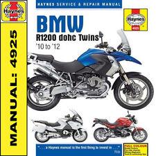 Haynes Manual BMW R1200 Dohc R1200GS R1200RT 2010-2012 4925 NEW