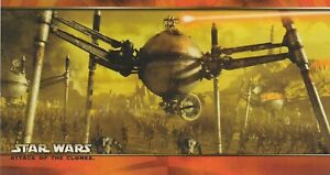 2002 STAR WARS ATTACK OF THE CLONES WIDEVISION PROMO TRADING CARD P-1