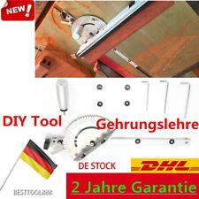 """Gehrungslehre Werkzeugset miter gauge für Gehrungsstangenmaß 3/8"""" 3/4"""" DIY Tool"""