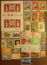Cayman Islands 32 Different Mint Never Hinged F-VF