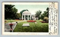 Arlington VA, Temple Of Fame & Mansion, Vintage Virginia c1907 Postcard