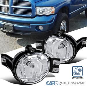 For 02-08 Dodge Ram 1500 2500 3500 04-06 Dodge Durango Clear Fog Lights+Switch