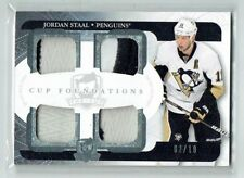11-12 UD The Cup Foundations  Jordan Staal  /10  Quad Patches