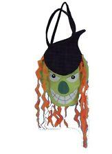 Sac à Bonbons feutrine gentille tête de monstre vert 7620 halloween costume fete