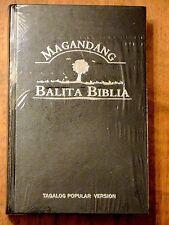 Tagalog Bible, Contemporary Version, Popular Version, Hardcover, Black