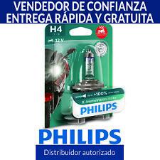 Philips Xtreme Vision Moto H4 130% Más Luz Bombilla Motocicleta (1 Unidad)