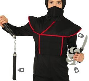 Ninja Fancy Dress Toy Weapon Set Dagger, Chucks & Star Kit fg