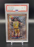 1996 Kobe Bryant Topps Finest w/ Coating Rookie #74 LA Lakers PSA 8 *SHIPS ASAP*