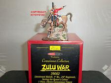 Britains 39002 Zulu war Modelzone TENENTE melvill montato Set Salvataggio COLORI