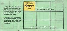 2000 USA Stamp #LT88 Sisseton-Wahpeton Sioux Tribe Game & Fish Hunting License